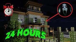 Monster School : 24 Hours In The Haunted House - Minecraft Animation