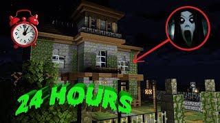 Canavar Okulu : Perili Evde 24 Saat - Minecraft Animasyon