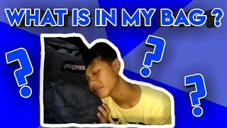 WHAT IS IN MY BAG ? | #Tagalog