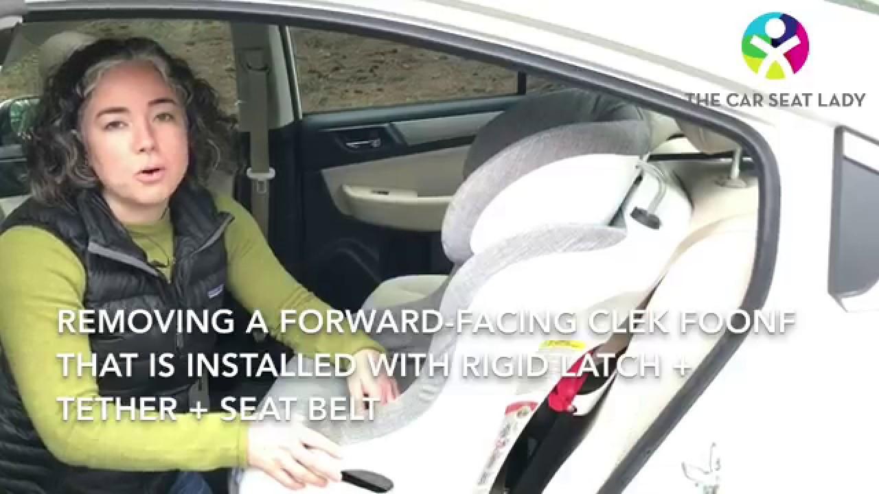 Remove A Forward Facing Clek Foonf