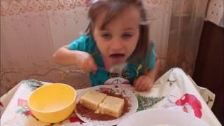 Бисквитные пирожные. Бисквитное пирожное рецепт. Как сделать.Make cake.做蛋糕