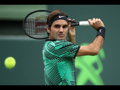Roger Federer and Del Potro  Miami Open 2017
