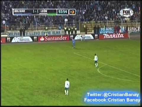 Bolivar 1 Leon 1 (Radio Fides Bolivia) Copa Libertadores 2014 Los goles
