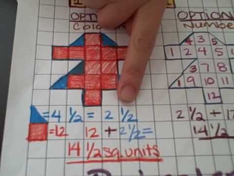 Introducing teaching perimeter area using graph paper youtube ccuart Image collections