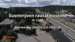 Kiertonet.fi – Suonenjoen rautatieasema, huutokauppa päättyy 16.9. klo 21:00