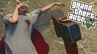 GTA 5 The PSYCHO #1 - Hatchet Massacre - GTA V Online PS4
