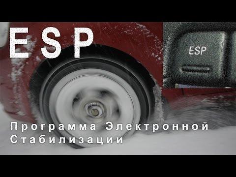 ESP Программа Электронной Стабилизации