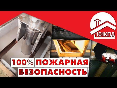 Монтаж противопожарной разделки для дымохода Craft HT. Проход через перекрытие. Алексей Телегин
