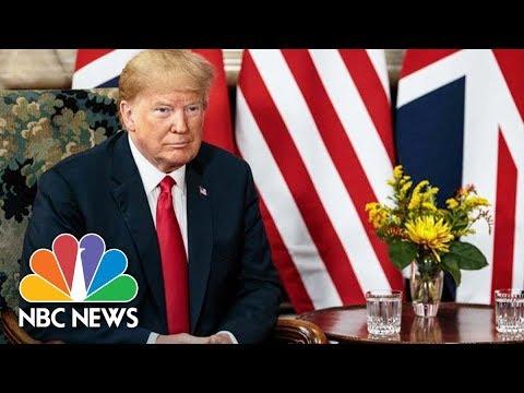 President Donald Trump Meets Queen Elizabeth II  NBC
