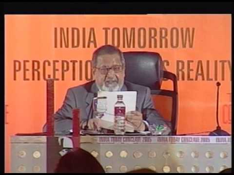 India Today Conclave: Session With VC Naipaul