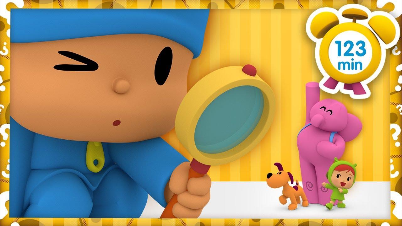 🔎 POCOYÓ en ESPAÑOL - Puertas mágicas [ 123 minutos ] | CARICATURAS y DIBUJOS ANIMADOS para niños