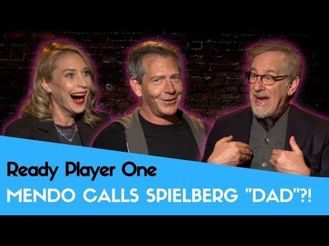 Ready Player One: Ben Mendelsohn Calls Spielberg Dad?!