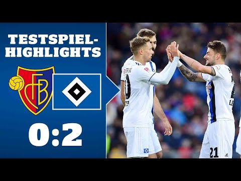 Highlights: FC Basel - HSV | SAISON 2019/20