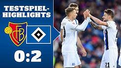 Highlights: FC Basel - HSV | SAISON 2019/20
