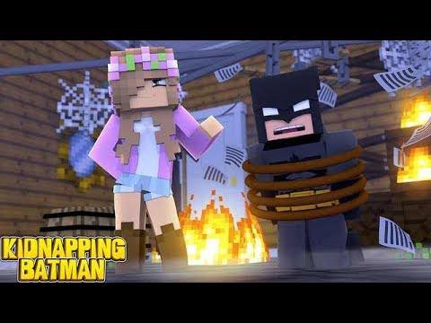EVIL LITTLE KELLY KIDNAPS BATMAN! | Minecraft Little Kelly