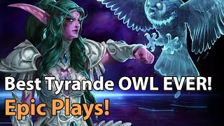 Heroes of the Storm - Best Play: Most EPIC Tyrande Owl ever!
