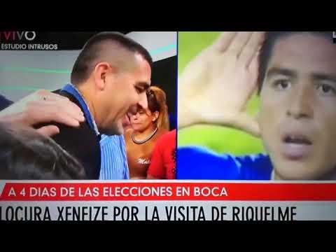 Riquelme dejó plantado a Mauro Viale en las puertas de América