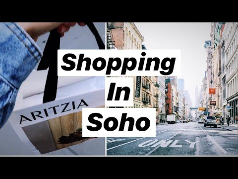 Come Shopping With Me in NYC // MODEL VLOG