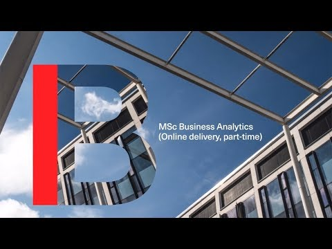 MSc Business Analytics (online Delivery, Part-time) At Imperial College Business School