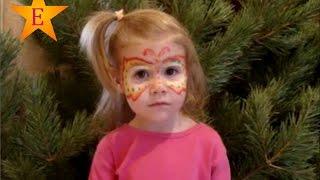 Аквагрим бабочка. Детский аквагрим на праздник. Красивый рисунок на лице. Face painting.(Открываем краски для аквагрима, выбираем красивый рисунок для лица. Рисуем на лице аквагрим бабочку. Масте..., 2015-12-28T21:12:17.000Z)
