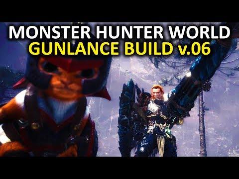 Monster Hunter World - Gunlance Build I'm Working On