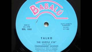 Talko The Hustle Instrumental Version