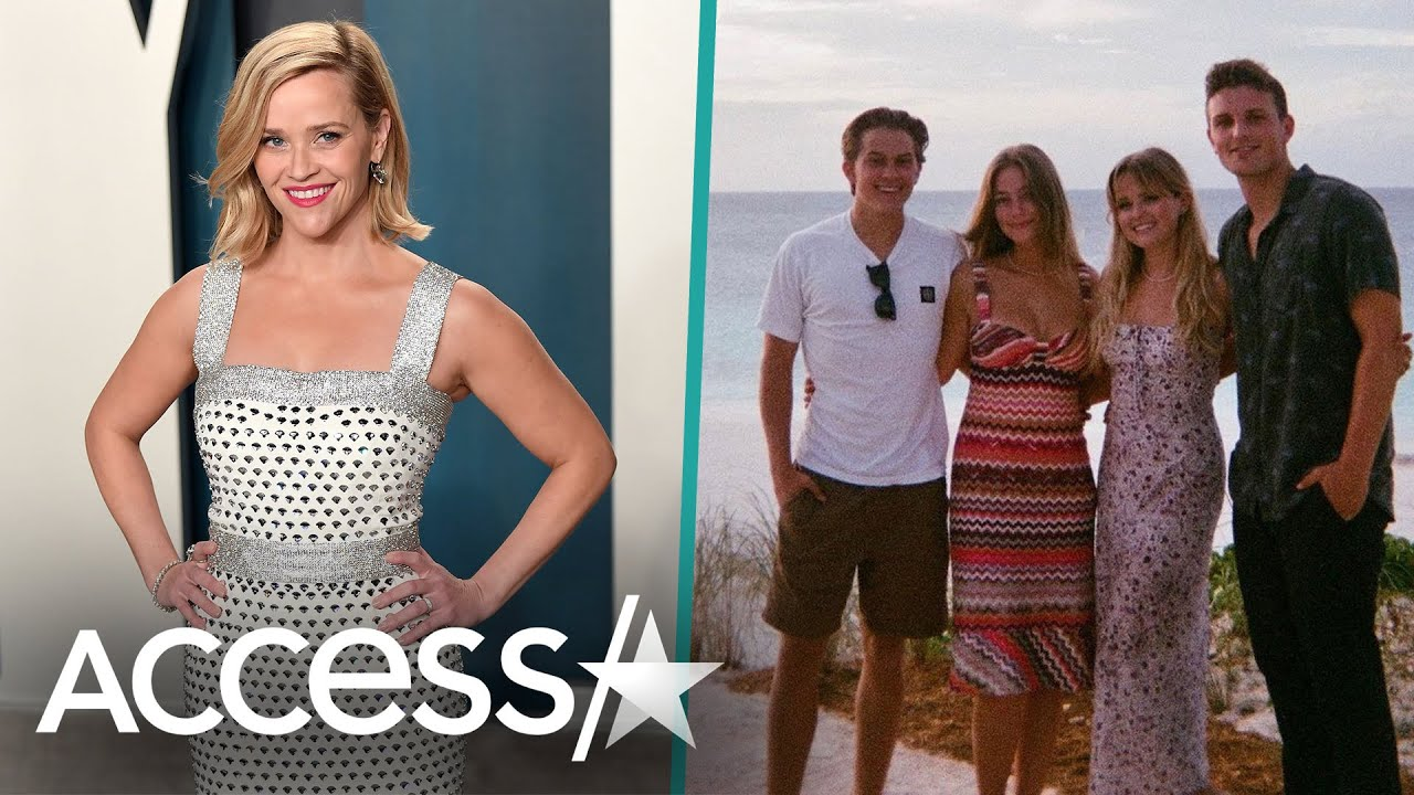 Reese Witherspoon's Kids Ava & Deacon Vacation w/ Their Significant Others