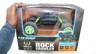 RC Rock Crawler Rally Car Unboxing & Testing – Chatpat toy tv