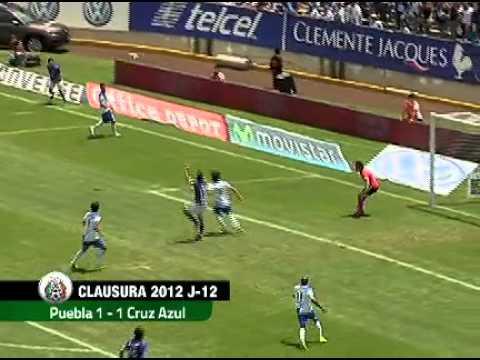 PUEBLA Y CRUZ AZUL REPARTEN PUNTOS: 1-1