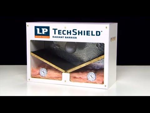 Radiant Barrier Sheathing | LP TechShield