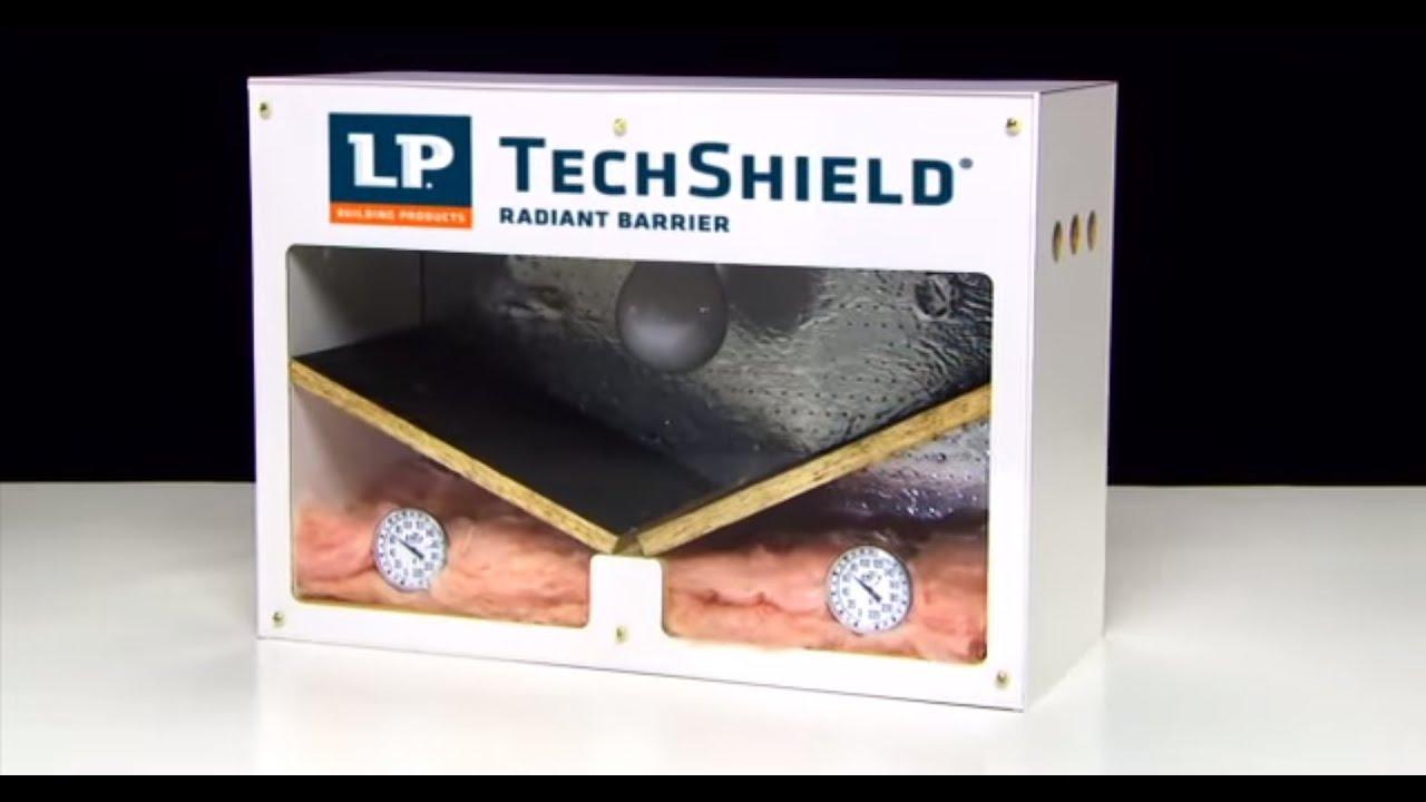 Lp 174 Techshield 174 Radiant Barrier Product Demonstrator Youtube