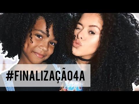 FINALIZAÇÃO PARA CABELO CRESPO  (4A/INFANTIL) | RAYZA NICÁCIO