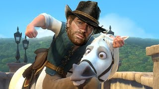 I HATE MY HORSE! - RED DEAD REDEMPTION 2 FUNNY Moments