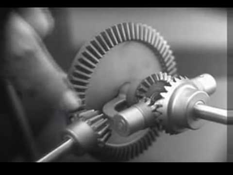 Around the Corner is a great 1930s video that clearly describes how the differential gear works and why we need them in our cars