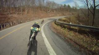 Bicycling the Mountains of Virginia with Shenandoah Mountain Touring - Rt. 33 east from WV