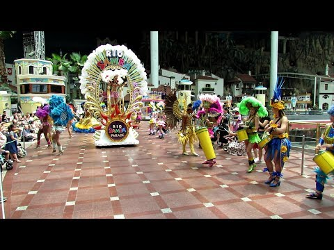 LotteWorld Adventrue 2017 Rio Samba Carnival Parade