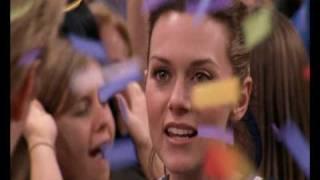 Lucas et Peyton Scene des confettis
