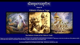 Chapter 10 Shrimad Bhagvad Gita  - Vibhuti Yoga - The Gita Chanting By Amitabh Singh