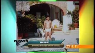 Juan Gabriel comparte en twitter foto en calzones