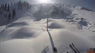 Gulmarg Skiing 2015