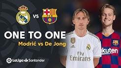 ElClásico: Modric vs De Jong