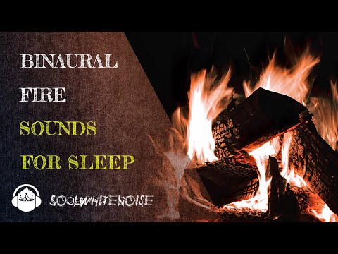 Binaural Fireplace To Help You To Fall Asleep And To Stay Sleeping