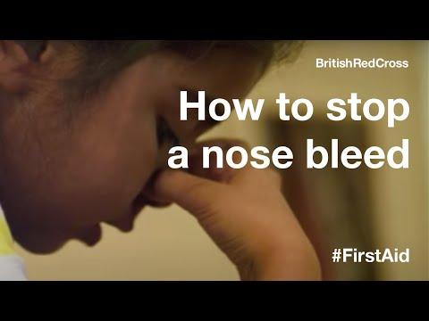 Children First Aid: Nose Bleed