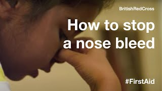 Children's First Aid: Nose Bleed