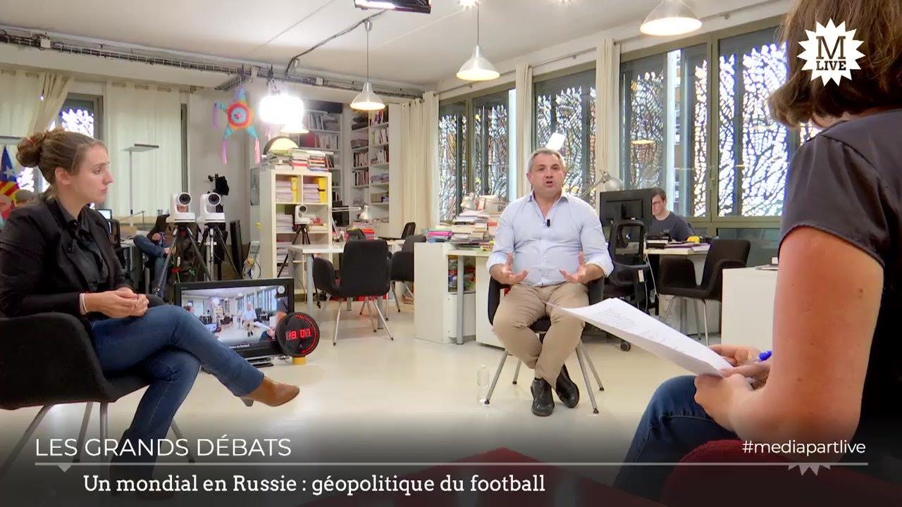 Un Mondial en Russie : géopolitique du football