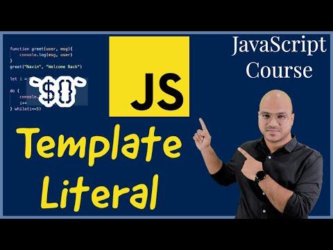 #15 Template Literal in JavaScript