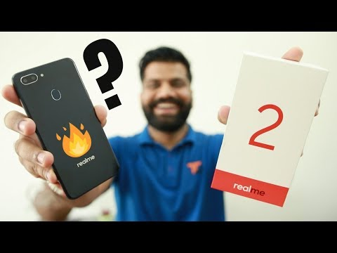 RealMe 2 Unboxing & First Look - Notch Display under 10K 🔥🔥🔥