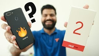 RealMe 2 Unboxing & First Look - Notch Display under 10K