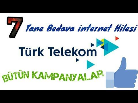 Turk Telekom Bedava İnternet 2018