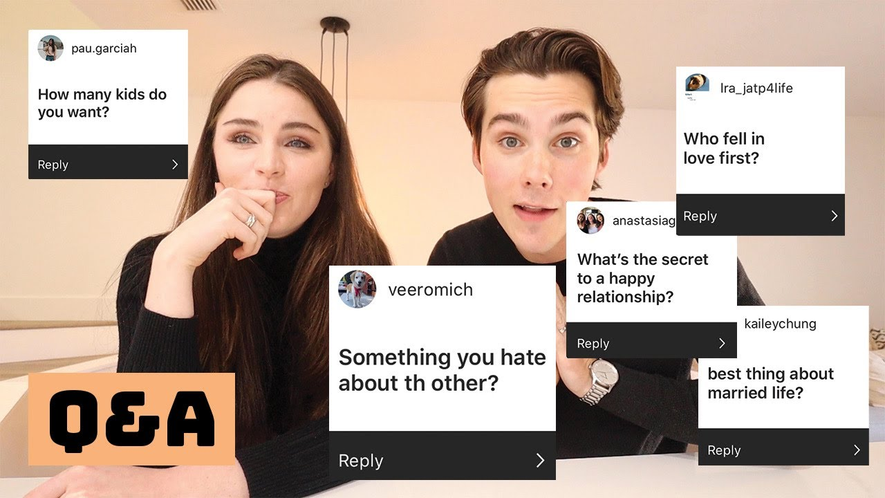 RELATIONSHIP ADVICE, MARRIAGE, AND CRINGY DANCING! (Q&A)